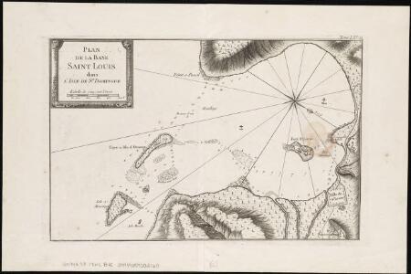 Plan de la Baye Saint Louis dans l'isle de St. Domingue