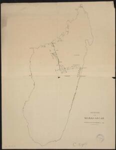 Géodésie de Madagascar. Triangulation antérieure à 1898