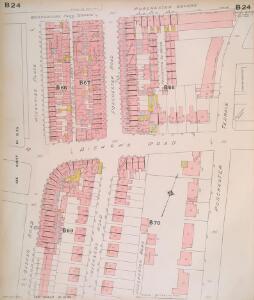 Insurance Plan of London West, North West Vol. B: sheet 24