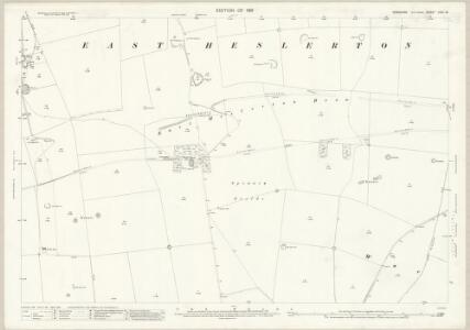 Yorkshire CVIII.16 (includes: Heslerton; Sherburn) - 25 Inch Map