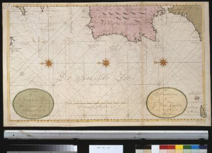 Een gedeelte van de Spaanse Zee van t Canaal tot t Naauw van de Straat