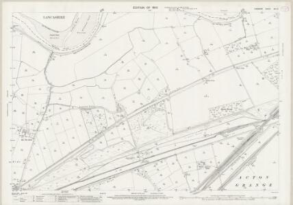 Cheshire XVI.10 (includes: Cuerdley; Moore; Penketh; Walton; Warrington) - 25 Inch Map