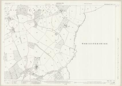 Herefordshire XIII.6 (includes: Bockleton; Laysters; Pudlestone) - 25 Inch Map