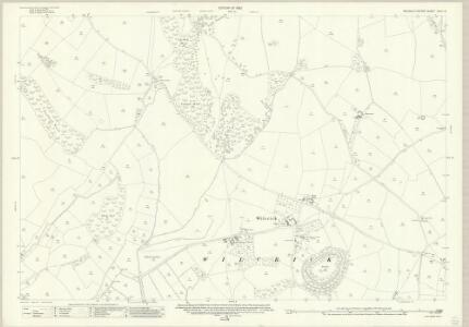 Monmouthshire XXIX.16 (includes: Bishopston; Llandevenny; Llanfarthin; Magor; Wilcrick) - 25 Inch Map
