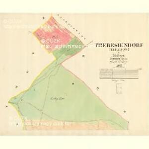 Theresiendorf (Terezow) - m3091-1-001 - Kaiserpflichtexemplar der Landkarten des stabilen Katasters