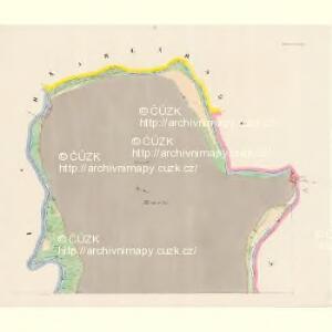 Donawitz - c7223-1-001 - Kaiserpflichtexemplar der Landkarten des stabilen Katasters