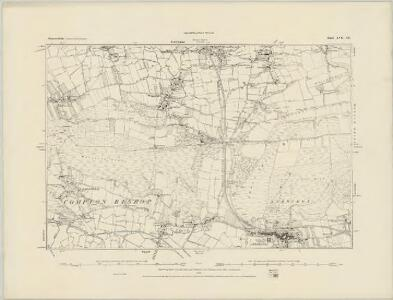 Somerset XVII.SW - OS Six-Inch Map
