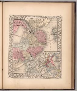 Plan of Boston