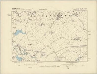 Leicestershire IX.NE - OS Six-Inch Map
