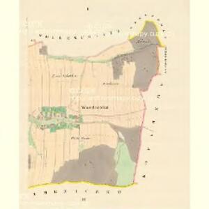 Wozdeczko - m0942-1-001 - Kaiserpflichtexemplar der Landkarten des stabilen Katasters