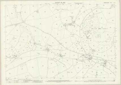 Denbighshire XLII.6 (includes: Llansilin) - 25 Inch Map