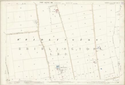 Yorkshire CXXVIII.14 (includes: Boynton; Bridlington) - 25 Inch Map