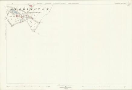 Northamptonshire XXVII.4 (includes: Great Gidding; Luddington) - 25 Inch Map