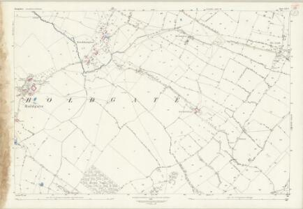 Shropshire LXV.2 (includes: Abdon; Ditton Priors; Holdgate; Stanton Long) - 25 Inch Map