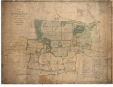 Plan of the Estates of Ravelston and Corstorphinhill.