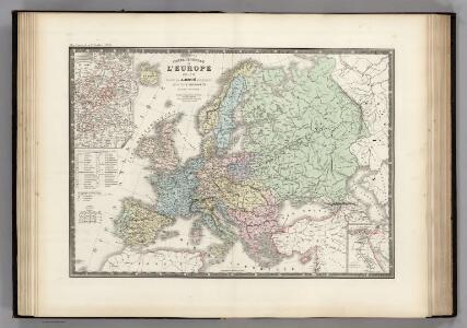 L'Europe en 1813.