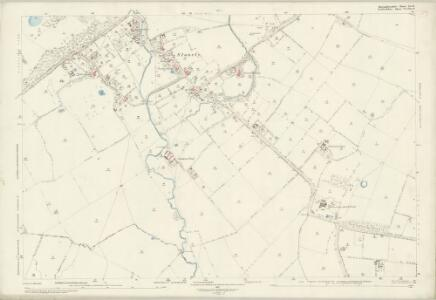 Huntingdonshire XX.12 (includes: Great Staughton; Kimbolton; Pertenhall) - 25 Inch Map