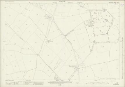 Oxfordshire XXVII.7 (includes: Bletchingdon; Hampton Gay and Poyle; Islip; Weston on the Green) - 25 Inch Map