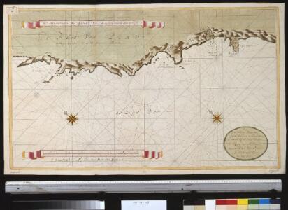 Port de Hillaij, reede van Hierbabouenna en Dierbaboine, de Hoek of Pointe Tambot en Rade deHillot aen de kust van Perou in de Zuijd Zee