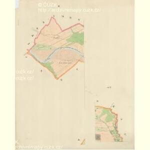 Krziwe - m1398-1-002 - Kaiserpflichtexemplar der Landkarten des stabilen Katasters