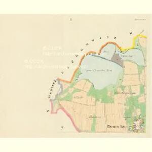 Pranischen - c0462-1-001 - Kaiserpflichtexemplar der Landkarten des stabilen Katasters