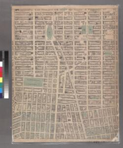 Sheet 7: [Bounded by Mc Dougall Street, Houston Street, Hancock Street, Bleecker Street, Sixth Avenue, E, Twentieth Street,Avenue A, Delancy Parkway, Bowery and Spring Street.]