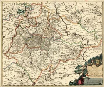 Marchionatus Misniae in qua sunt Territorium Misniense, Lipsiense, Voitlandiae, Osterlandiae, Ertzgeburgi et Dominium Naumburgense Mersoburgense. Episcopatus Hallensis