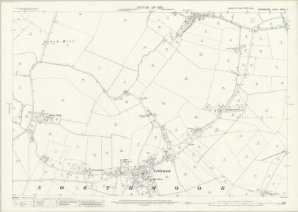 Oxfordshire XXXVIII.7 (includes: Northmoor; Standlake; Stanton Harcourt) - 25 Inch Map