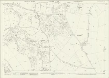 Surrey XX.16 (includes: Chelsham; Woldingham) - 25 Inch Map
