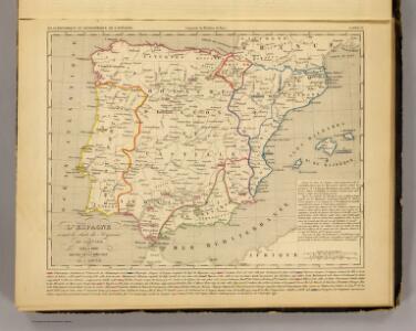 L'Espagne 1212 a 1492.