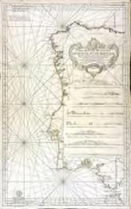 Carte réduite des costes d'Espagne et de Portugal