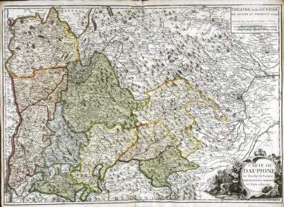Carte du Dauphiné