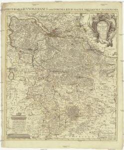 L'electorat de Hannover ou les domaines du roi de la Grande Bretagne et Allemagne
