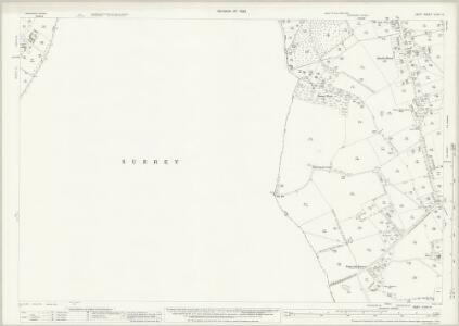Kent XXVIII.13 (includes: Orpington; Tatsfield; Westerham) - 25 Inch Map