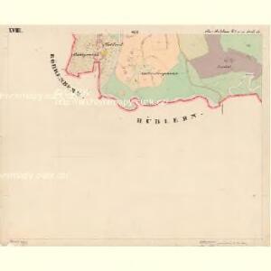 Moldau Ober - c2176-1-018 - Kaiserpflichtexemplar der Landkarten des stabilen Katasters