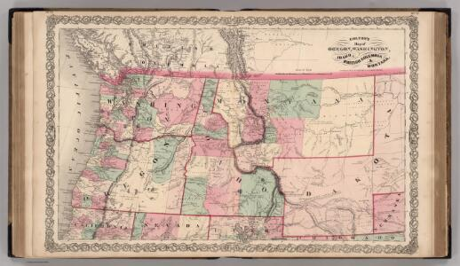 Oregon, and Washington Territory.