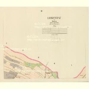 Lobendau - c4186-1-003 - Kaiserpflichtexemplar der Landkarten des stabilen Katasters