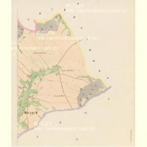 Rampusch - c6428-1-002 - Kaiserpflichtexemplar der Landkarten des stabilen Katasters