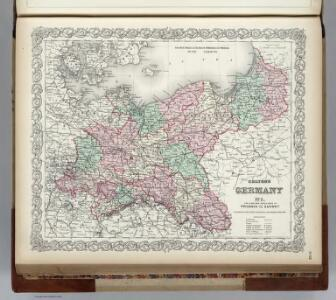 Germany, Prussia and Saxony.