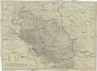 Schlesien in Nieder- und Ober Schlesien, dann in Fürstenthümer eingetheilt, nebst der Grafschaft Glatz
