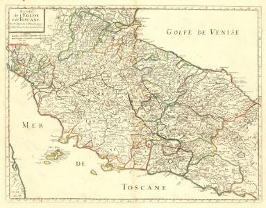 Estats de L'Eglise et de Toscane