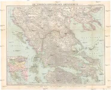 Die türkisch-griechischen Grenzgebiete