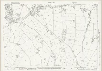 Cheshire XVII.9 (includes: Grappenhall; Lymm) - 25 Inch Map