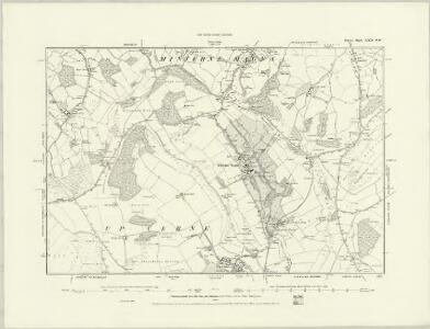 Dorset XXI.NE - OS Six-Inch Map