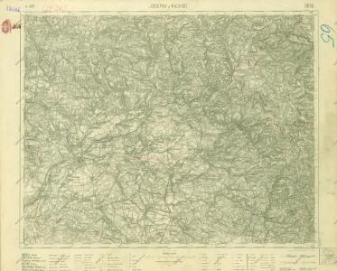 III. vojenské mapování 3856