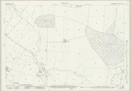Huntingdonshire XXV.2 (includes: Great Staughton; Hail Weston; Little Paxton; Southoe and Midloe) - 25 Inch Map