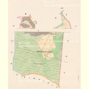 Przibras - c6227-1-005 - Kaiserpflichtexemplar der Landkarten des stabilen Katasters