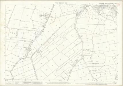 Lincolnshire CXLIV.1 (includes: Gedney; Long Sutton; Lutton) - 25 Inch Map