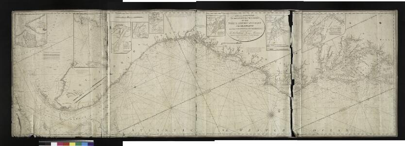 A new and accurate chart (from Captain Holland's surveys) of the North American Coast, for the navigation between Philadelphia and the Missisipi.