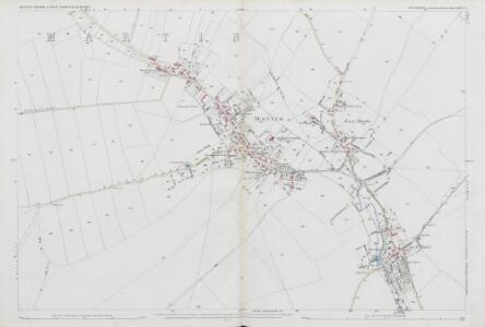 Wiltshire LXXV.8 (includes: Martin) - 25 Inch Map